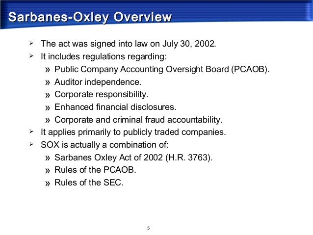 sarbanes oxley strengths and weaknesses We investigate the association between material weakness in internal controls (mw) disclosed under section 302 of the sarbanes–oxley act of 2002 (sox) and future stock price crash risk we argue that relative to firms with effective internal controls, firms with mw have lower financial reporting precision.