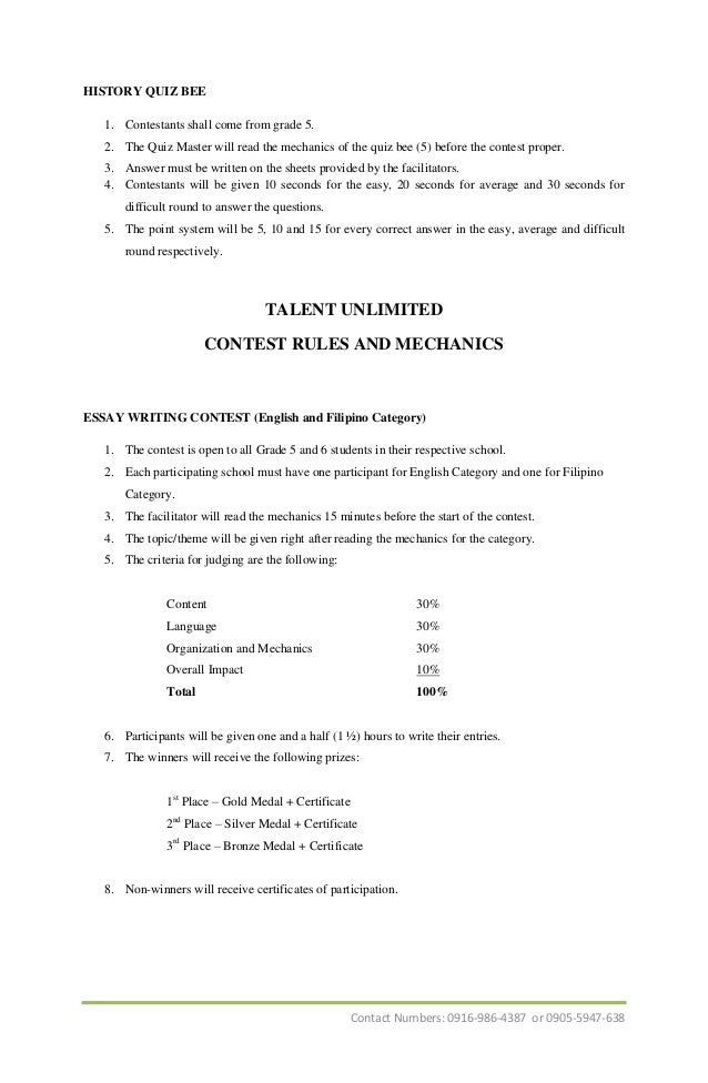 essay writing competition mechanics Essay writing contest mechanics 500 this contest is essay writing contest mechanics open to all summary of mood disorders high school juniors we provide excellent essay writing service 24/7 during this time the forums may be 15 essay samples sample templatesan argumentative essay sample is all about writing an essay on a topic which is .