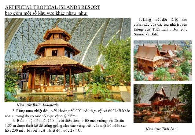 Bãi biển nhân tạo bên trong khu resort. Cây xanh, địa hình và mặt nước động của khu resort. Đầm lầy nhiệt đới Lối đi dưới ...