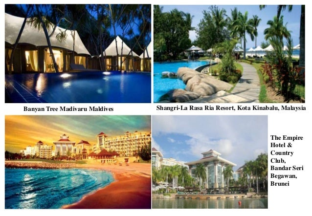 Banyan Tree Madivaru Maldives Shangri-La Rasa Ria Resort, Kota Kinabalu, Malaysia The Empire Hotel & Country Club, Bandar ...