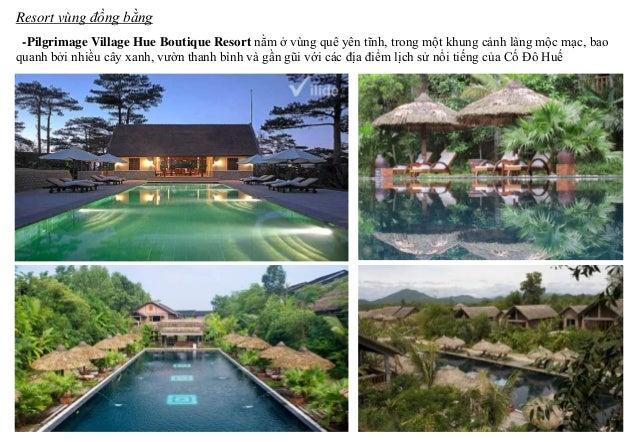 -Pilgrimage Village Hue Boutique Resort nằm ở vùng quê yên tĩnh, trong một khung cảnh làng mộc mạc, bao quanh bởi nhiều câ...
