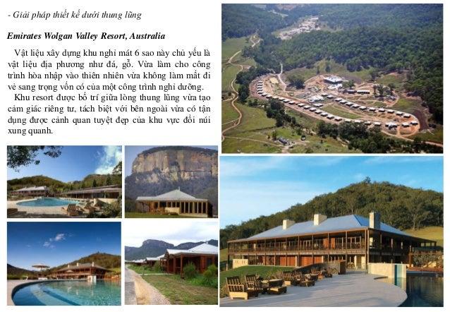 Emirates Wolgan Valley Resort, Australia - Giải pháp thiết kế dưới thung lũng Vật liệu xây dựng khu nghỉ mát 6 sao này chủ...