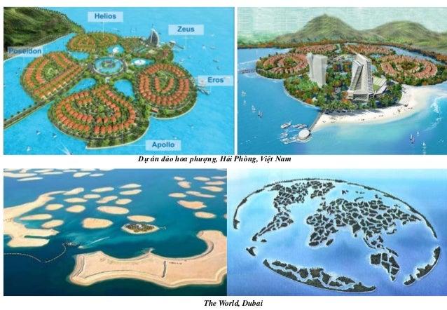 Dự án đảo hoa phượng, Hải Phòng, Việt Nam The World, Dubai