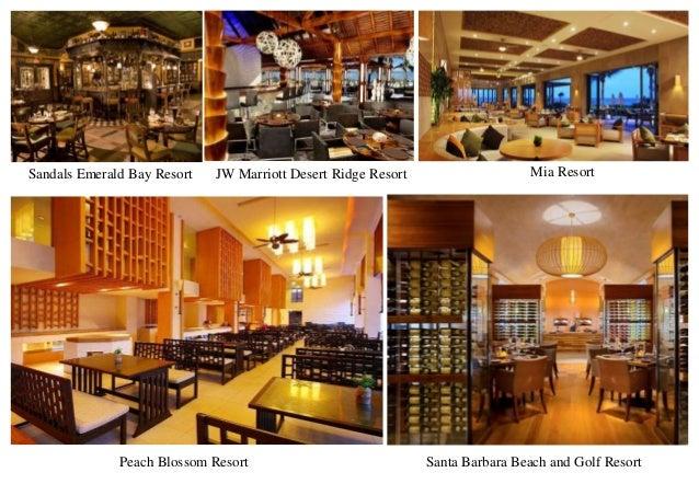 JW Marriott Desert Ridge Resort Mia ResortSandals Emerald Bay Resort Santa Barbara Beach and Golf ResortPeach Blossom Reso...
