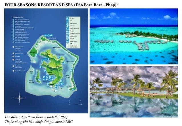Đảo Bora Bora vốn là một đảo núi lửa tây nam Thái Bình Dương TỔNG MB TOÀN KHU RESORT Bố trí các bungallow Hình ảnh của Bor...