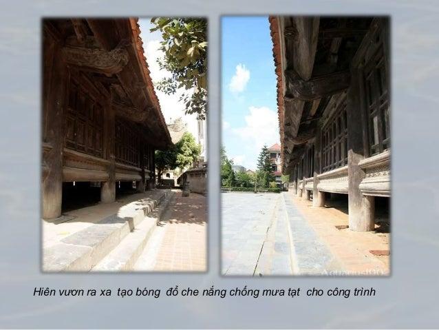 Hiên vươn ra xa tạo bóng đổ che nắng chống mưa tạt cho công trình
