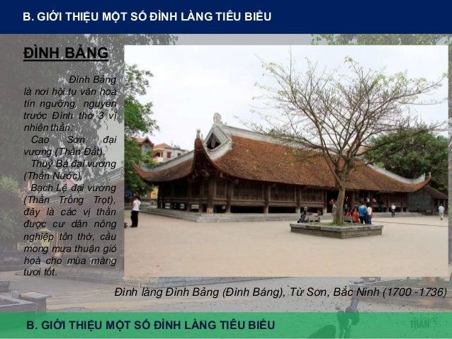 Vị trí: Bắc Ninh là tỉnh thuộc vùng đồng bằng Bắc bộ, liền kề với thủ đô Hà Nội Tổng thể: có ao đình ở phía nam giúp điều ...