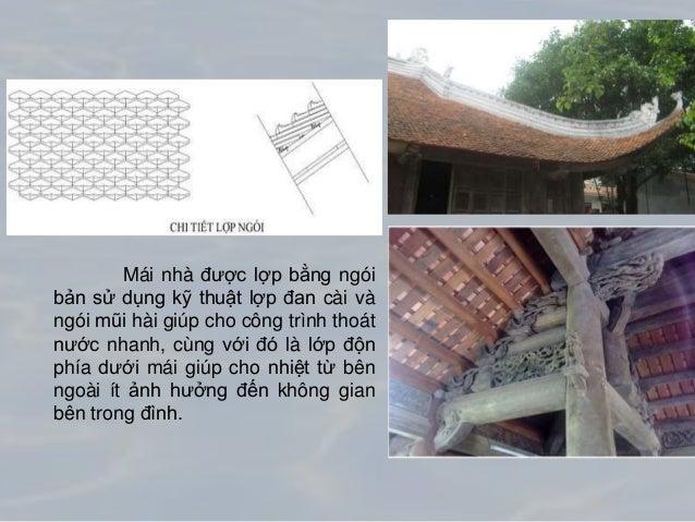 Chi tiết cấu tạo hiên Bốn mặt của công trình được bao bọc bởi hàng hiên tạo khoảng che chắn tốt cho công trình bởi nắng mư...