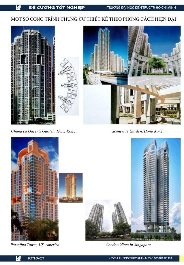 Chung cư Queen's Garden, Hong Kong Sceneway Garden, Hong Kong Portofino Tower, US. America MỘT SỐ CÔNG TRÌNH CHUNG CƯ THIẾ...
