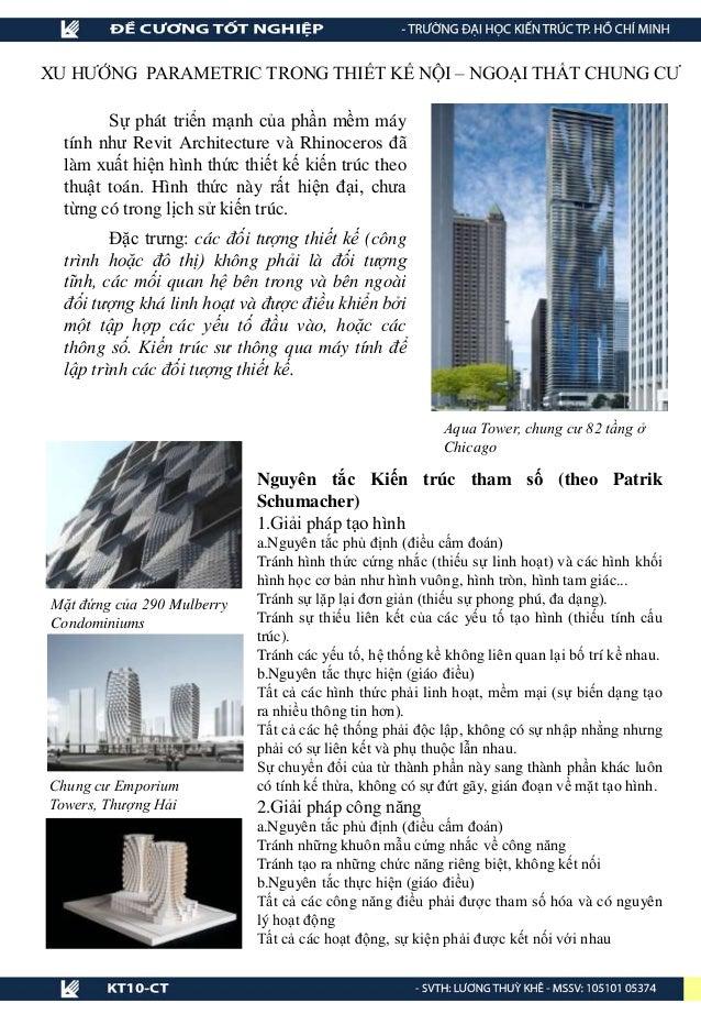 XU HƯỚNG PARAMETRIC TRONG THIẾT KẾ NỘI – NGOẠI THẤT CHUNG CƯ Aqua Tower, chung cư 82 tầng ở Chicago Sự phát triển mạnh của...
