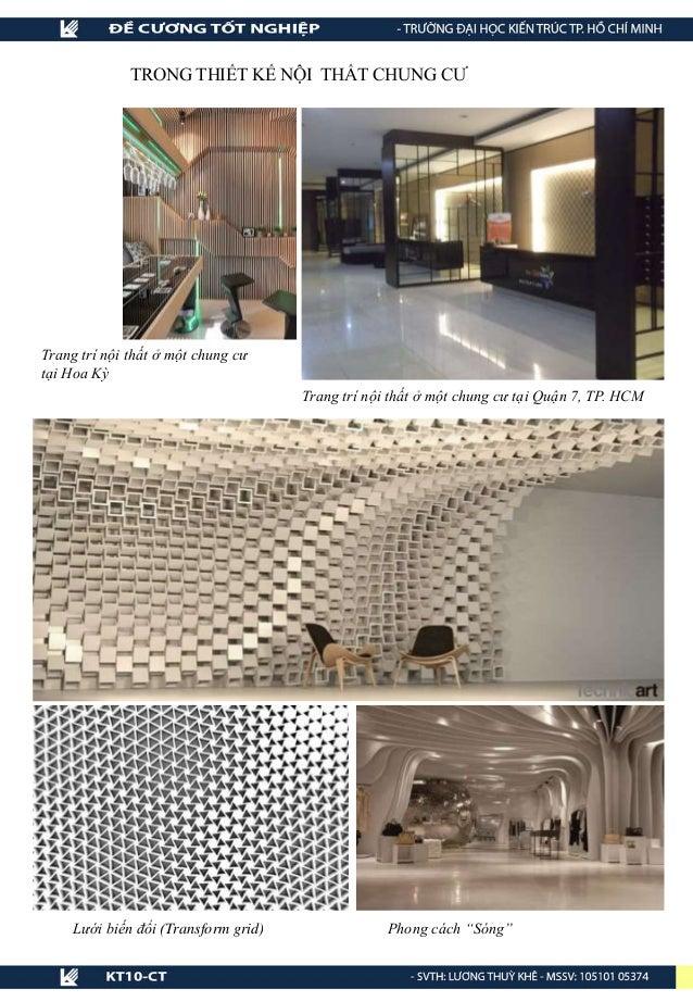 """Phong cách """"Sóng""""Lưới biến đổi (Transform grid) Trang trí nội thất ở một chung cư tại Hoa Kỳ Trang trí nội thất ở một chun..."""