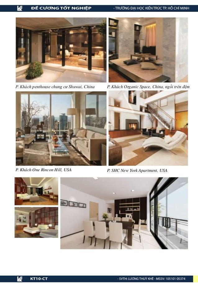 P. Khách penthouse chung cư Shuwai, China P. Khách Organic Space, China, ngồi trên đệm P. Khách One Rincon Hill, USA P. SH...