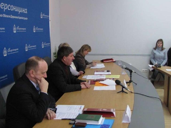 Kherson Steering Group Slide 2