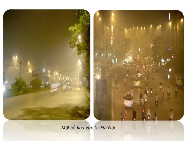 Một số khu vực tại Hà Nội