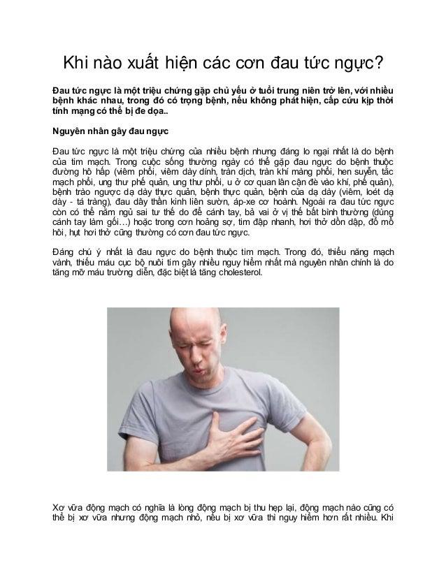 Khi nào xuất hiện các cơn đau tức ngực? Đau tức ngực là một triệu chứng gặp chủ yếu ở tuổi trung niên trở lên, với nhiều b...