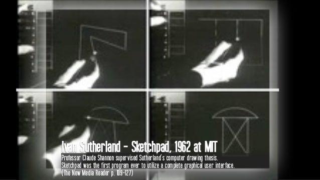 Morton Heilig in the 1950's Experiential theatre, involving multiple senses: Sensorama (1962)