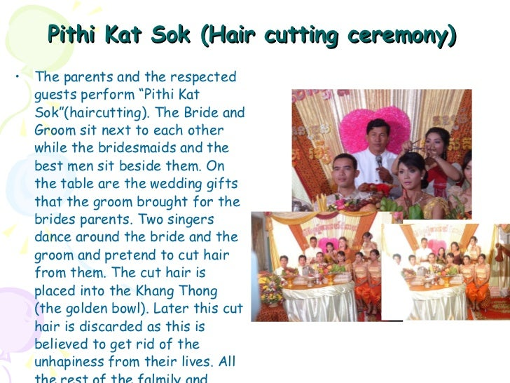khmer wedding program