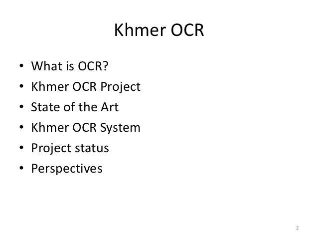 Khmer OCR Slide 2