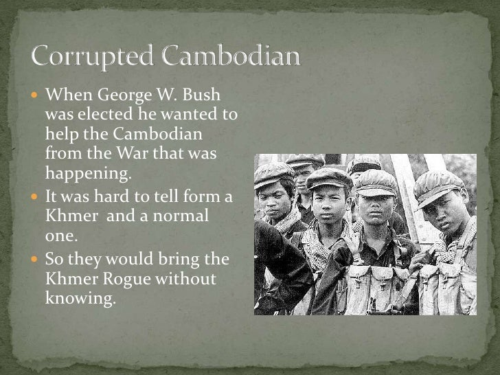 the impact of the khmer rogue in cambodia Justice in the immediate aftermath of the khmer rouge regime, in august 1979 a people's revolutionary tribunal led by the new vietnamese regime tried pol.