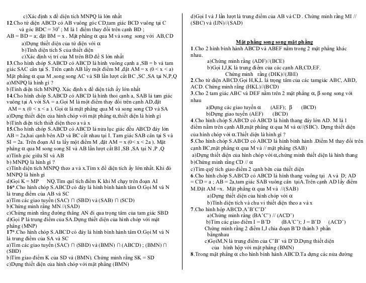 c)Xác định x để diện tích MNPQ là lớn nhất                         d)Gọi I và J lần lượt là trung điểm của AB và CD . Chứn...