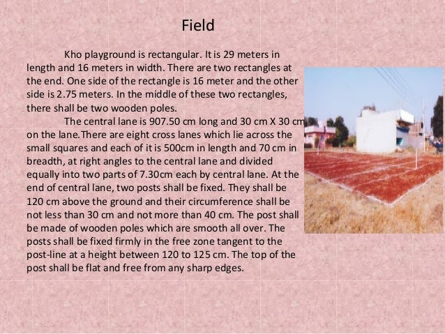 Kho kho for Uses of soil in english