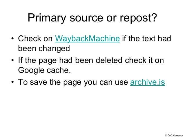 Verification of inforamtion tools for journalists Slide 3