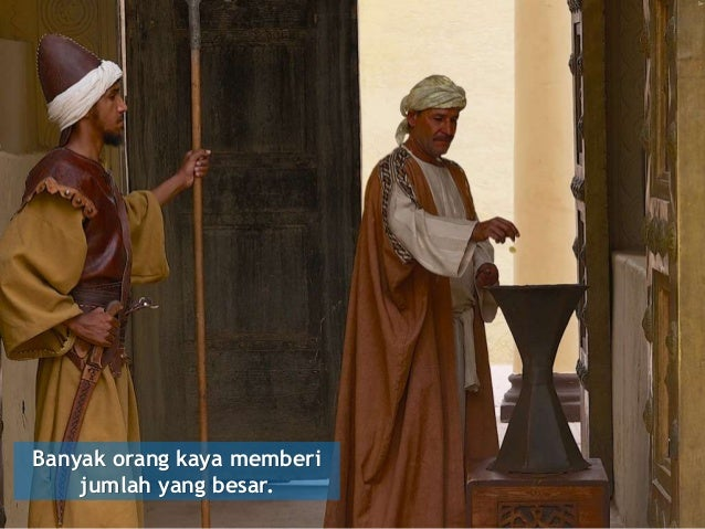 Khotbah Rohani Persembahan Janda Miskin