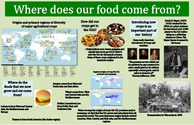 where does our food come from Where food comes from, inc, is the number one provider of certification and verification services to the food industry.