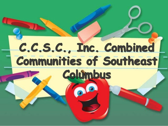 History of the C.C.S.C Inc. Founded by the late Sergeant Lonnie Jackson in 1981. Currently operated by Lonya Jackson-Sarde...