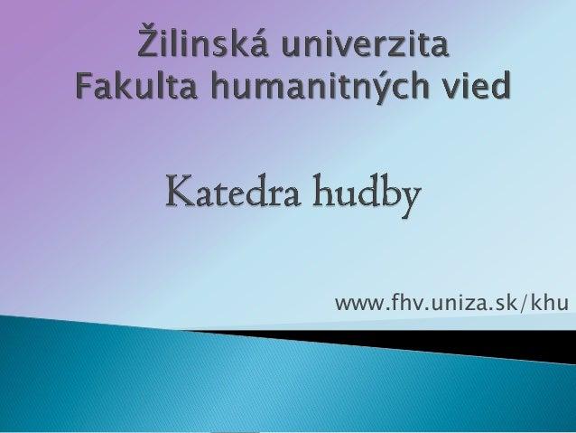 www.fhv.uniza.sk/khu