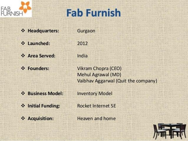 Online furniture retailers in India