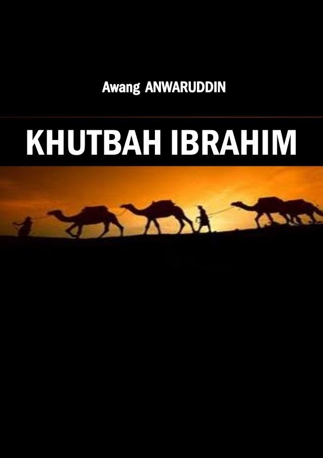 KHUTBAH IBRAHIM