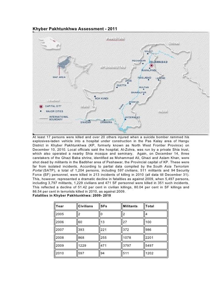Khyber Assessment 2011