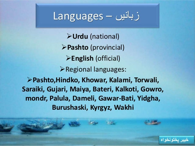 urdu is our national language Urdu, the national language of pakistan having it often being contrasted with hindi, is considered by many linguistics one of the two standard forms of the same language – hindustani.