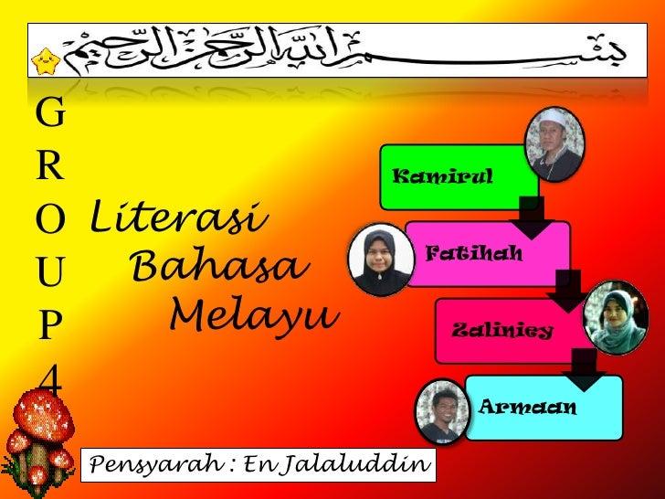 GR                         KamirulO LiterasiU Bahasa                            FatihahP     Melayu                    Zal...