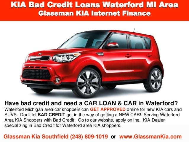 Kia Finance Bad Credit >> Kia Bad Credit Loans Waterford Mi Area L Special Finance