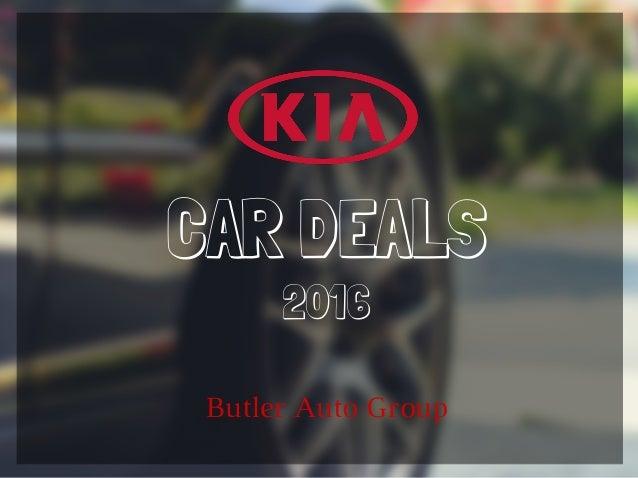 CAR DEALS Butler Auto Group 2016