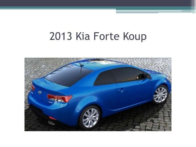 2013 Kia Forte 5 Door; 3.