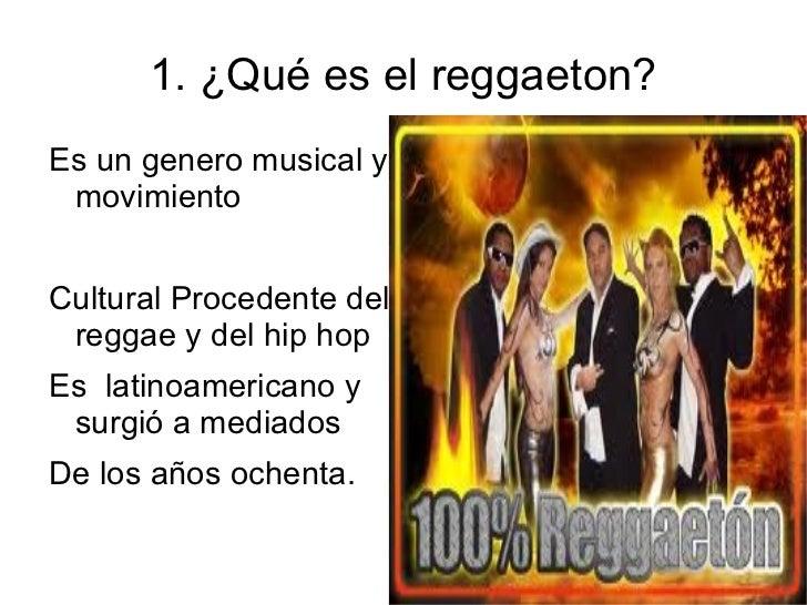 el reggaeton Slide 2