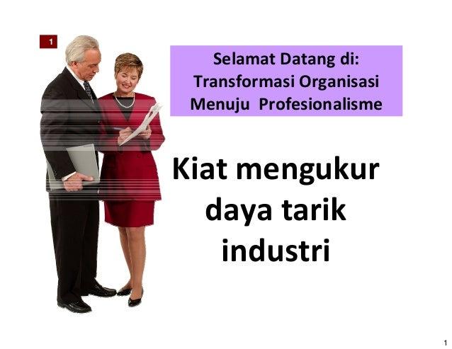 Kiat Mengukur Daya Tarik Industri