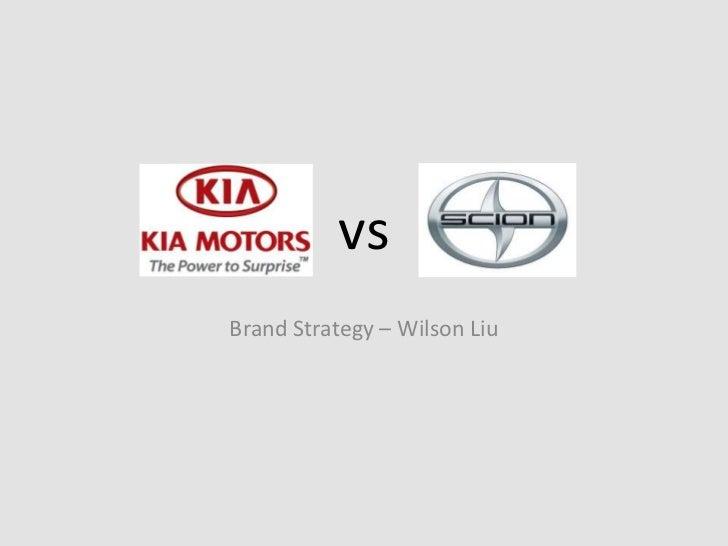 vsBrand Strategy – Wilson Liu