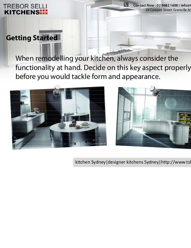 Contact Now : 02 9682 1600 / info@tskitchens.com.au                                                      24 Cowper Street ...