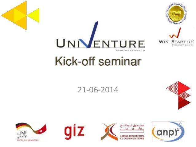 Kick-off seminar 21-06-2014