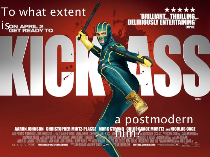 To what extentis                 a postmodern                 film?