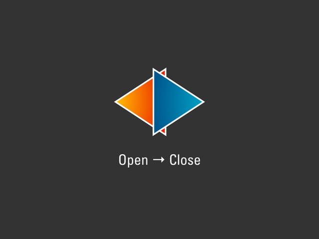 Open → Close