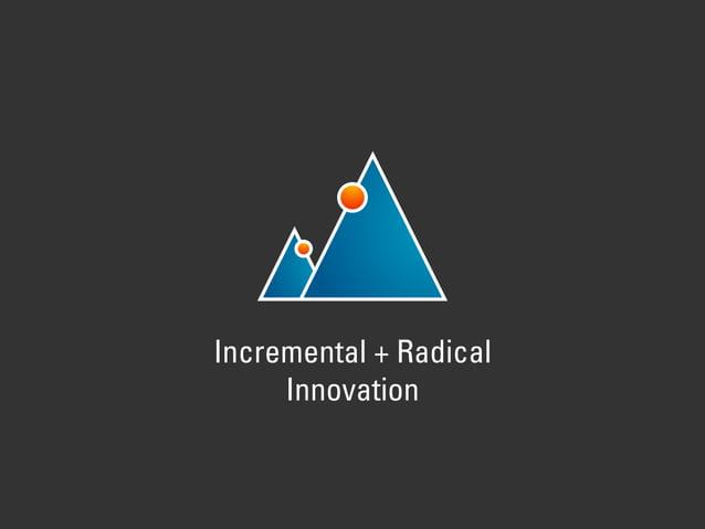 Incremental + Radical Innovation