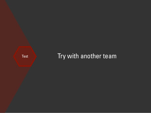 find another team, and share your storyboard