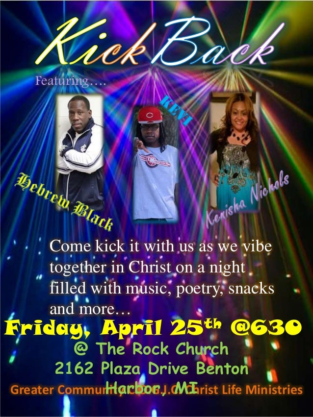 Greater Community C.O.G.I.C. Christ Life Ministries Come kick it with us as we vibe together in Christ on a night filled w...