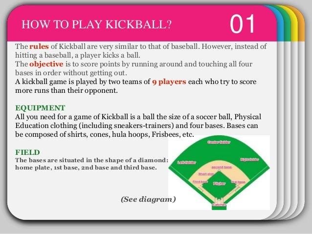 kickball baseball and home plate