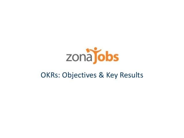OKRs: Objectives & Key Results